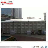 400 Seaters gemischtes transparentes Multi-Seiten Zelt