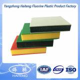 Plaque à haute densité de PE de couleur de feuille bleue de HDPE
