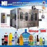 Botella de agua del líquido de llenado embotellado Maquinaria / Llenado de botellas de plástico de embalaje Línea de Producción