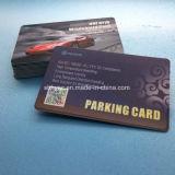 Stationnement des véhicules personnalisés système RFID de conception des cartes de stationnement