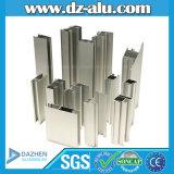 L'alluminio di alluminio si è sporto profilo con il rivestimento della polvere anodizzato colore differente