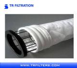 Bolso de filtro del polvo del fieltro de la aguja de PTFE para la industria de la caldera