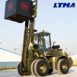 上の製造者Ltma 5トンのディーゼル荒い地勢のフォークリフト