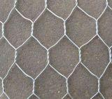 Серебряная горячая окунутая гальванизированная шестиугольная сетка мелкоячеистой сетки