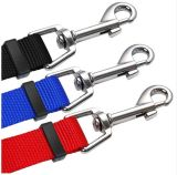 Acoplador de cães de 3 vias Não Ajustável emaranhado 3 Cores trança de Nylon Curta leash