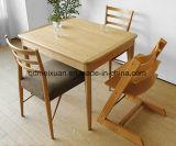 固体木のダイニングテーブルの居間の家具(M-X2907)