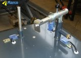Marco paste de Hydraulische Opheffende Lijst van de Schaar voor Industriële Robots aan