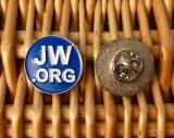 Brooch Jw Suzhou голубой квадратный круглый. Значок Pin отворотом Org