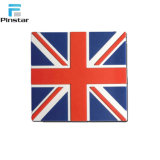 Drapeau britannique fait sur mesure en caoutchouc à bon marché Fridge Magnet