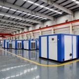 Compressore d'aria variabile industriale della vite di frequenza per la vernice di spruzzo