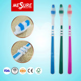 Barato y mejor venta de cepillo de dientes en adultos con cerdas de carbón de bambú y mango antideslizante