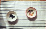 Bambusfaser-Tafelgeschirr/Küchenbedarf gedruckte Kind-Filterglocke (BC-BP1001)