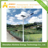 lâmpada ao ar livre luz de rua solar completa Semi-Separada da jarda do jardim 30W