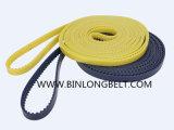 鋼鉄コードが付いている高圧の黒くか黄色の/Bue Tt5の円の編む機械ベルト