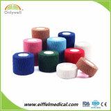 工場直接供給の綿のゴムによってカスタマイズされる医学の凝集の包帯を所有するため