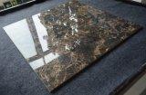 安い価格6X6装飾的な焦茶の床タイル