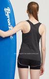 Usura superiore di yoga della biancheria intima delle donne degli abiti sportivi della maglia di U-Figura