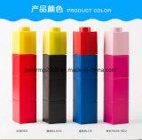 Новый стиль творческой цветной блок рекламных пластиковую бутылку воды