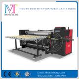Rodillo ULTRAVIOLETA de la impresora de inyección de tinta de la impresora del formato grande del Mt a rodar e impresora plana para la venta