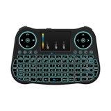 Ratón del aire Mt08 con el teclado retroiluminado de la radio 2.4GHz