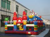 Città gonfiabile di divertimento del trampolino della Cina