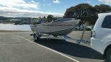 6m galvanisierter Boots-Schlussteil mit Schienen