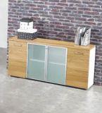 Hölzerner Regal-Büro-Schrank-Speicher-Schrank mit Tür-Büro-Möbeln