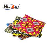 15 años de la fábrica de la experiencia del color multi de la impresión de venta africana de la tela