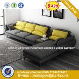 Clásica de madera salón moderno sofá de cuero (HX-8NR2113)