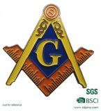 Commerce de gros de l'émail Dye Black badge personnalisé