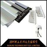 An der Wand befestigtes LED-Aluminiumgehäuse für LED-heller Stab-Glas-Dekoration