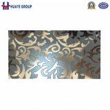 Het geëtsteh Decoratieve Blad van de Kleur van het Roestvrij staal voor Lift