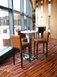 Hotel Banquete Mobiliário Usar pedra artificial Chairstable jantar set, Avisador de pedra artificial de cima para sala de jantar