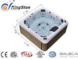 最もよい上等のジャクージアクリル米国の鉱泉の自由で永続的な温水浴槽