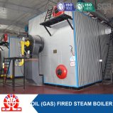 Industriale bagnare indietro la caldaia a vapore a gas dell'olio dei tre passaggi