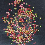 Redondo, estrela, lua, formas do coração projetar flocos do Glitter