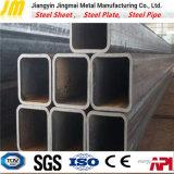 Черноты пробки API ERW квадратная гальванизированная труба стальной стальная квадратная