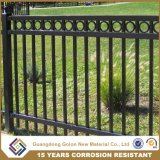 Bonita e elegante paliçada de ferro ornamentais antemuro/Vallation da cerca de protecção