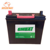 Fácil manutenção Bateria 12V45ah Ns60 46b24r no JIS Series