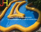 Inflables portátiles piscina curva para el Parque de Atracciones