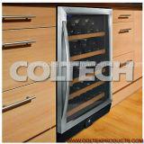 Dispositivo di raffreddamento di vino incorporato di controllo di umidità del compressore del LG del singolo commercio all'ingrosso di zona