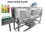ガラスビンの缶のためのペットびんの袖のラベルの収縮の袖の蒸気のトンネル