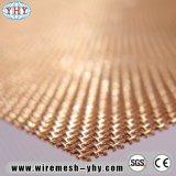 Treillis métallique de cuivre en laiton d'écran de 150 microns