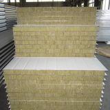Sounproof ignifugação de lã de rocha do painel do tipo sanduíche para a construção do prédio