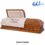 Beerdigungsinstitut-halber Couch-Schatulle-Kasten-erwachsene Begräbnis- Schatulle und Sarg