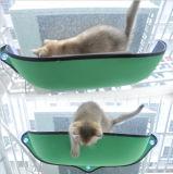 吸引のコップ猫のWindowsのとまり木猫のハンモックが付いているWindowsによって取付けられる猫のハングのベッド