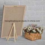 Panneau de lettre de feutre table des messages de 10 pouces avec le stand en bois