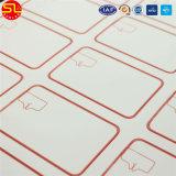 Großhandels-Einlegearbeit Prelam Blatt der RFID Karten-Einlegearbeit-RFID mit 3 durch Lay-out 8