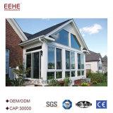 Casa de alumínio do wintergarden do perfil com vidro