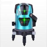 1V1h 2 ligne niveau rotatoire étudiant vert de laser